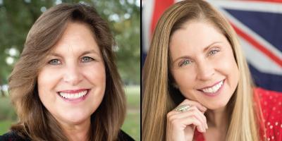 Annie Larson & Linda Pisani